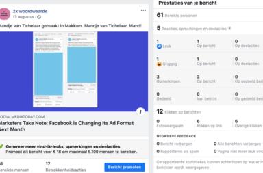 facebook kansen